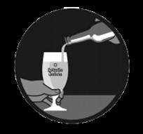 MEGA - Cómo servir una cerveza, girar a vertical.