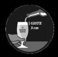 MEGA - Cómo servir una cerveza, espuma de 3cm.