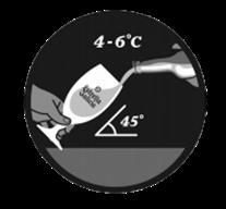 MEGA - Cómo servir una cerveza, inclinar 45 grados para comenzar a servir.