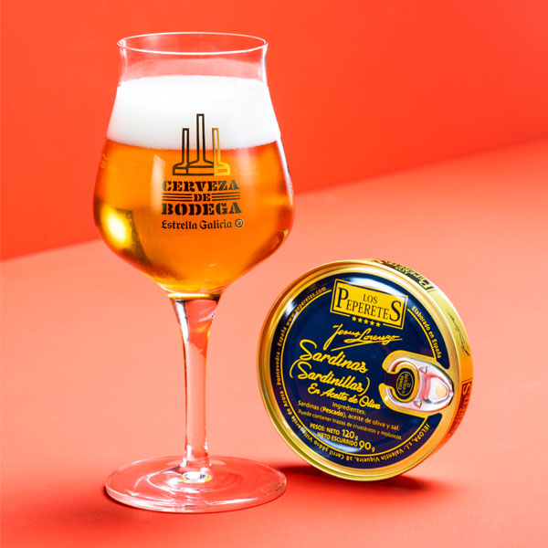 Maridaje conservas Cerveza de Bodega